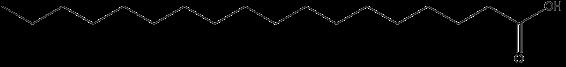 ácido de 18 átomos de carbono esquematizado