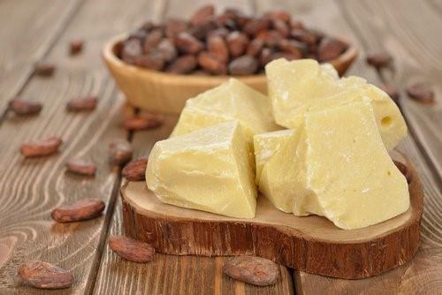 ácido esteárico en la manteca de cacao