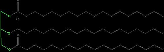 Molécula de triglicérido