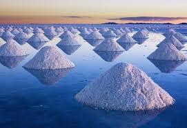 Montañas de sal ¿natural o sintético?