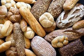 Panecillos de pan con gluten