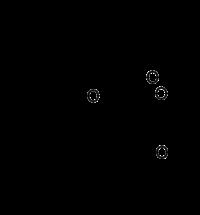Estructura química de la hiperforina