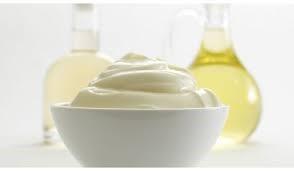 Mayonesa, aceite y vinagre
