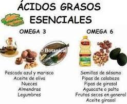 Alimentos que contienen ácidos grasos esenciales