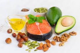 Alimentos con ácidos grasos
