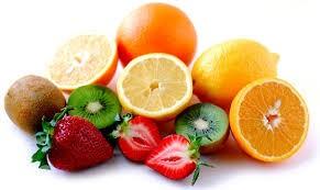 Los cítricos contienen vitamina C