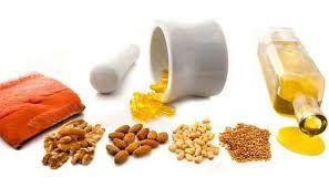 Alimentos con diferentes series omega de ácidos grasos
