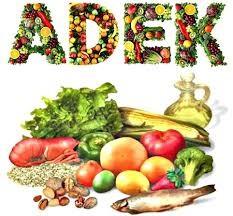 Vitaminas A,D,E y K