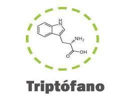Molécula de triptófano