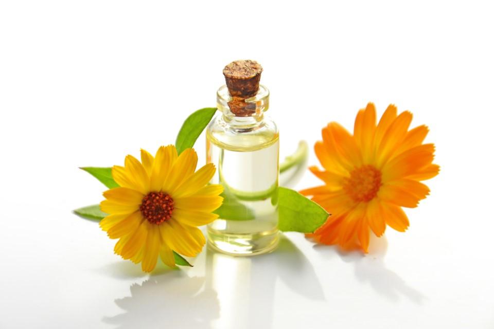 Los aceites vegetales ayudan a reparar la piel