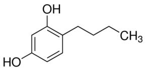 Composición química del 4-butilresorcinol