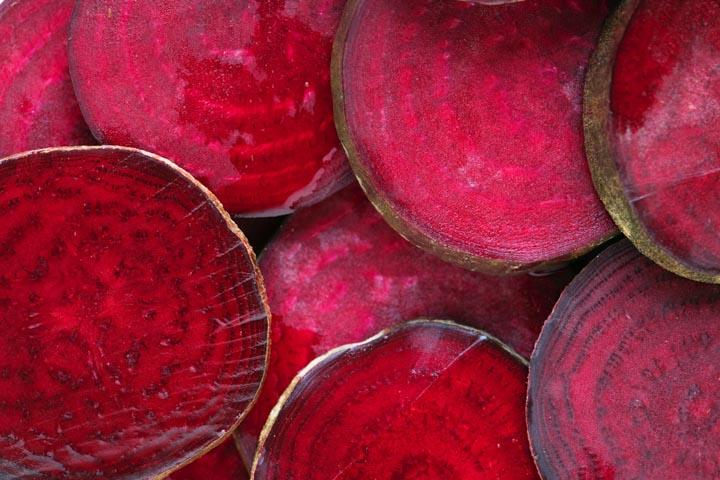 La remolacha contiene antioxidantes