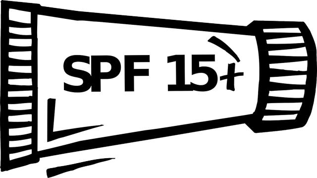Crema solar con SPF 15