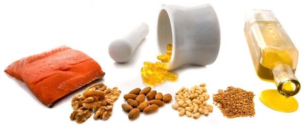 Alimentos que contienen lípidos