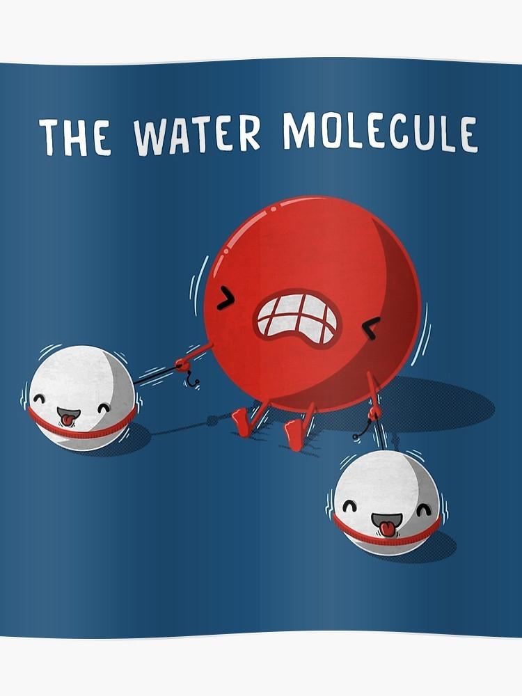 Los pares de electrones se desplazan hacia el oxígeno