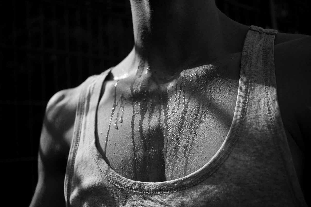 El sudor como componente del manto ácido