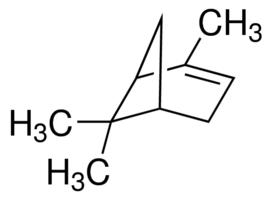Fórmula química del alfa-pineno