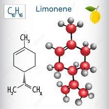 Limoneno, componente del aceite de yuzu