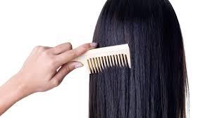 El peinado del cabello puede romper su estructura