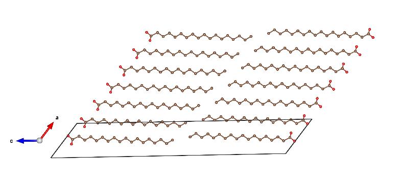 Acoplamiento de ácidos esteáricos saturados